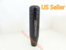 JDM Racing Mugen Shift Knob Black Anodized Aluminum S2000 Civic WRX STI EVO TC