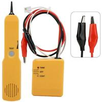RJ11 Wire Tone Generator Probe Tracer Network Telephone Line Finder Tester Kit