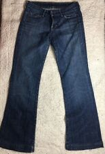 CITIZENS OF HUMANITY FAYE #003 LOW WAIST FULL LEG STRETCH BLUE 26 PRE-OWNED
