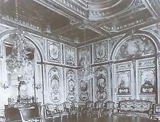 Fontainbleau,Salle du Conseil, Magic Lantern Glass Slide