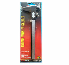 """6"""" 150mm Alloy Steel Vernier Caliper Gauge Measuring Metric Imperial Micrometer"""
