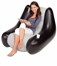 Inflatable Lounge Chair Sofa Couch Seat Gaming Camping Relaxing Comfortable New