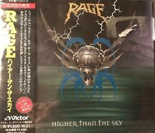 """Rage Import Japan CD """"Higher Than The Sky"""""""