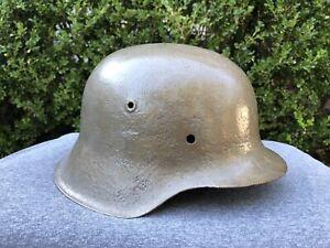 Original WWII German Wehrmacht Army M42 Helmet Shell Only