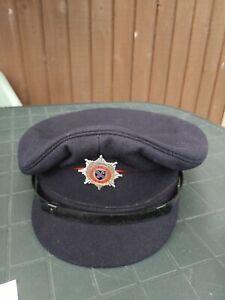 Fire Service - Vintage - Merseyside Fire Brigade Cap Size 7 3/8