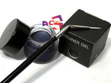 Waterproof Long Lasting Navy Blue Eyeliner & Eye Liner Angle Brush