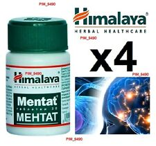4x Himalaya Herbal MENTAT - Supports Brain Function & Stress Relief x  120 tabs