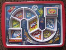 Children's Superhero Dinner Plate