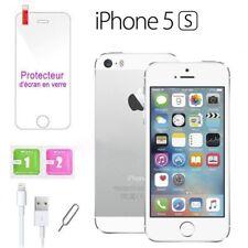 Apple iPhone 5s 32go 32GB unlocked DÉBLOQUÉ Téléphones Mobile IPhone argent