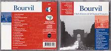CD BOURVIL BEST OF 20T DE 2001 COLLECTION CHEF OEUVRE CHANSON FRANCAISE