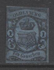 Ungeprüfte Briefmarken aus dem altdeutschen Oldenburg (bis 1945)