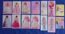 Barbie Greeting Cards Lot-14 Bride Wedding Birthday 1994-2002 Great Condition