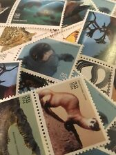 20 Vintage Endangered Animal Stamps For Dressing Up Your Wedding Mail