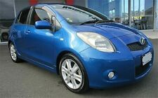 06-10 TOYOTA YARIS VITZ RS TRD BLUE D4D IMPORT JDM MANUAL 5 DR  NUT BREAKING