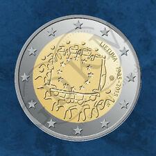 Litauen - 30 Jahre EU Flagge - 2 Euro 2015 unc.