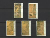 China Taiwan 2014 Ancient Chinese Paintings Children at Play Stamp Painting