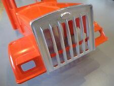 Aluminum Front Mask Grill Guard 1/14 Tamiya Semi King Grand Hauler Tractor Truck