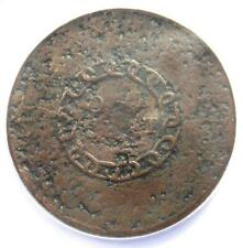 """1793 Flowing Hair Chain Cent 1C Coin """"America""""- NGC Fine Details (Corrosion)!"""