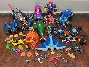 Imaginext DC Super Friends Batman Figures and Vehicles Lot
