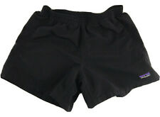 "PATAGONIA Baggies Shorts Solid Black Women's Size XS, 4"" inseam"