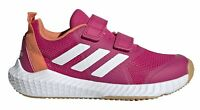 Detalles de Adidas Rendimiento Niños Ocio Calzado Fitness Fortagym k Cordones Azul Verde
