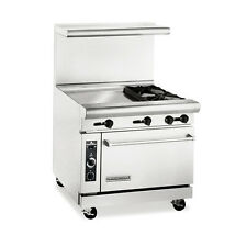 American Range Ar24G-2B, Heavy Duty Gas 36 inch, 2 burners Restaurant Range with