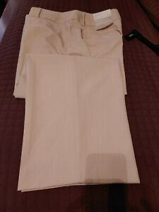 Cato Curvy Beige Dress Pant Womens size 18WP Pockets Button Zip Close
