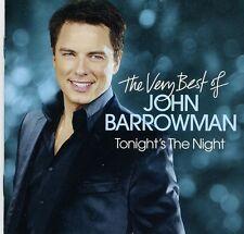 John Barrowman - Tonight's the Night: Very Best of [New CD]