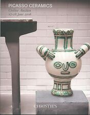 CHRISTIE'S SK PICASSO CERAMICS MADOURA Auction Catalog 2016