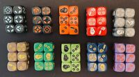 Zombicide Dice - Game Night Sets, Invader, Black Plague Iron Dice - NEW