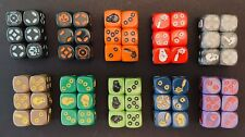 Zombicide Dice - Game Night , Invader, Black Plague Iron Dice, Full Metal - NEW