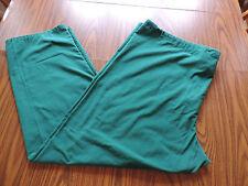 Sb Scrubs Pants 2X Green Drawstring Pockets Plus Uniform Bottoms