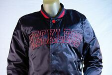 "YOUNG & RECKLESS MEN'S BLACK LETTERMAN JACKET ""RECKLESS"" ON FRONT size Large"