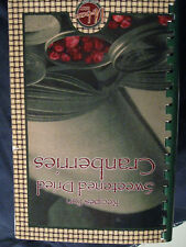 Recipes for Sweetened Dried Cranberries Cookbook