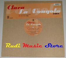 LP CLARA La vongola MIX 33 rpm 12'' ITALY 2001 ZAPPING NO cd mc dvd