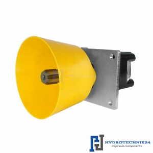 Hydraulikmotor Orbitmotoren Typ SMS 125cm3/Umdr 600U/min Zapfwelle + Halteplatte