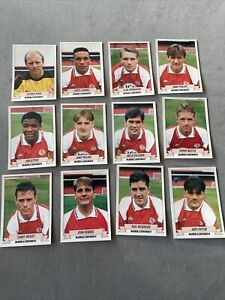 Panini Football 93 Complete Middlesbrough Team Set Stickers + Backs 1993 Rookie