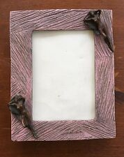 Unique Handmade Bronze Frame By F. Ginsburg