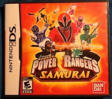 Nintendo DS Power Rangers Samurai complete and Tested