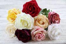 Flores secas y artificiales decorativas de seda artificial para el hogar