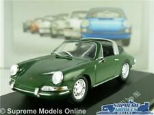 PORSCHE 911 TARGA MODEL CAR 1965 GREEN 1:43 SCALE IXO ATLAS COLLECTION SPORTS K8