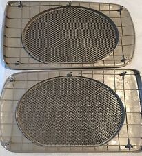 Toyota Camry Beige Replacement Rear Speaker Grille Covers 2002-2006 OEM