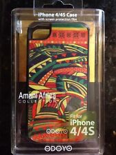 ODOYO iPhone 4/4s Case Amani Africa Collection Hard Shell Protective Screen