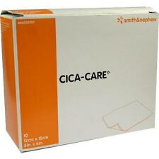 CICA CARE 12x15cm duenne Silikongelplat.z.Narbenb. 10St 1318922
