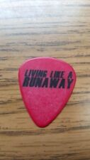 LITA FORD Guitar Pick...LIVING LIKE A RUNAWAY