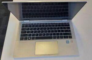 "HP X360 1030 G3 13"" Touchscreen Laptop i5-8350U 8GB 256GB X3U20AV - Defective!!"