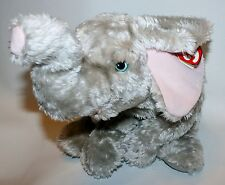 Ty Classic Teensy Plush Silver Gray Elephant w/ Tag Beanie Baby Stuffed Animal