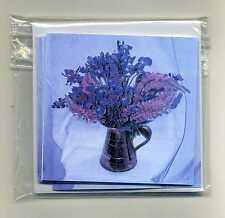 PACK OF 16 IRIS & LUPIN GIFT NOTELETS [FREE P&P] by SELF-REP' ARTIST