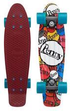 "Penny 22"" Plastic Waffle Top Sticker Slap Mini Cruiser Skateboard"