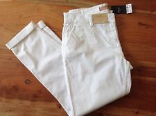 Next White Chino trousers Size 12 L    BRAND NEW  & Tags